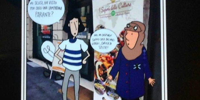 Una graphic novel per gli eventi di Fuori Luogo Padova by Clara
