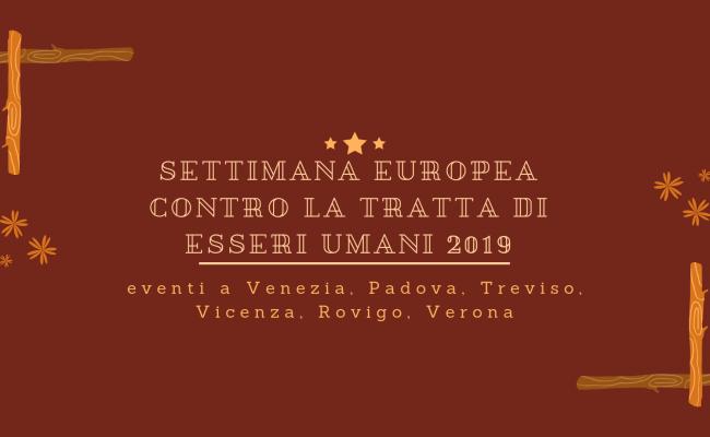 Giornata Europea Contro la Tratta di Esseri Umani 2019