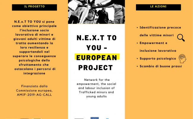 N.E.x.T TO YOU european project AMIF-2019-AG CALL